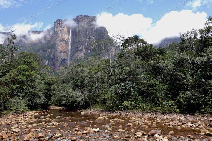 Cataratas de Ángel en Venezuela