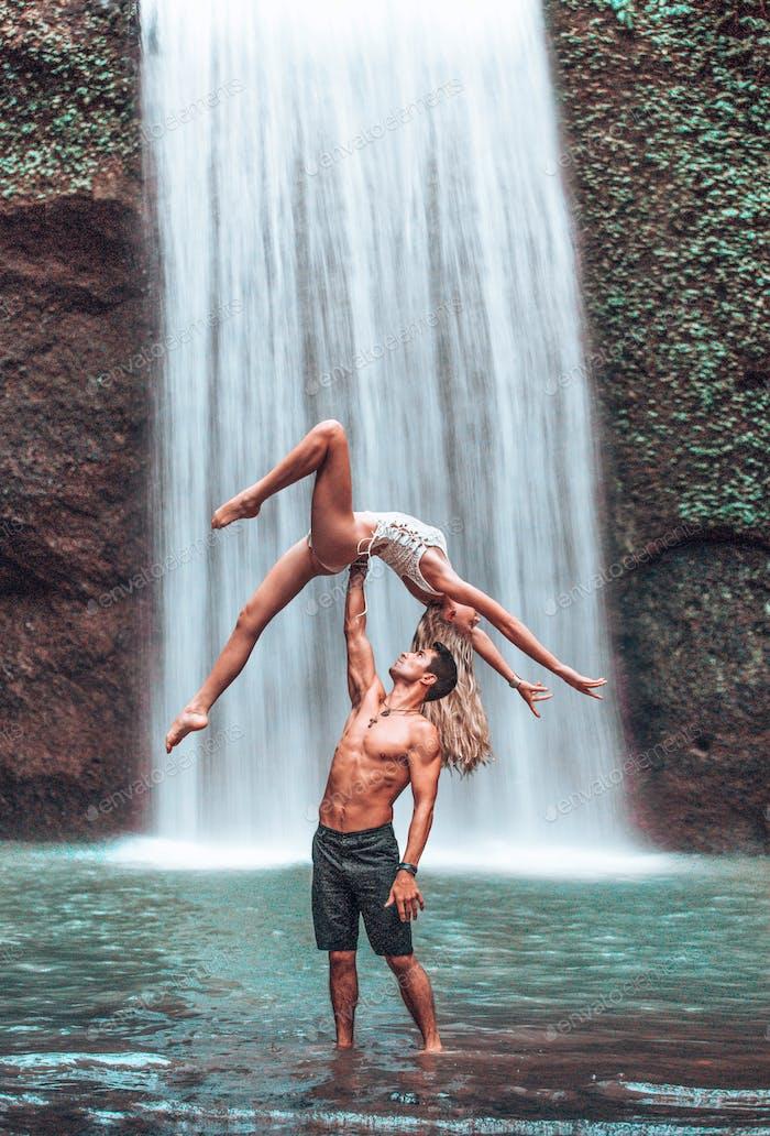 Bali Couple Acro