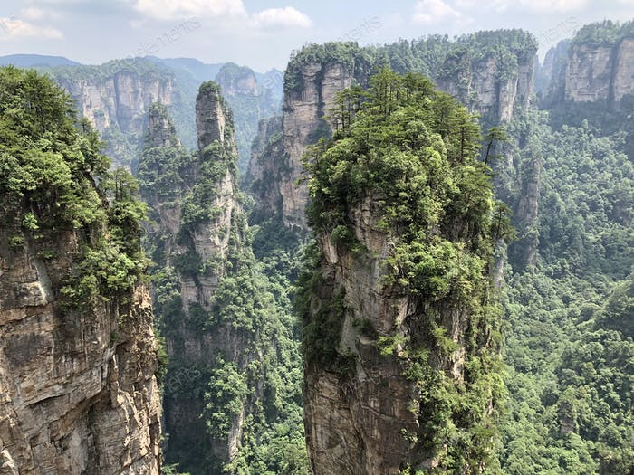 Avatargebirge - Zhangjiajie, China