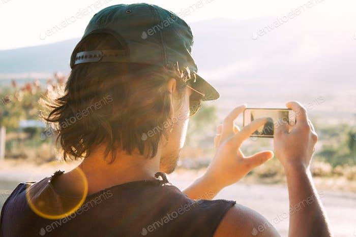 Shooting mobile photography