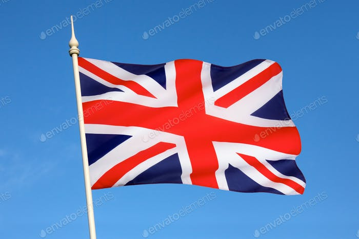 National flag of the United Kingdom of Great Britain