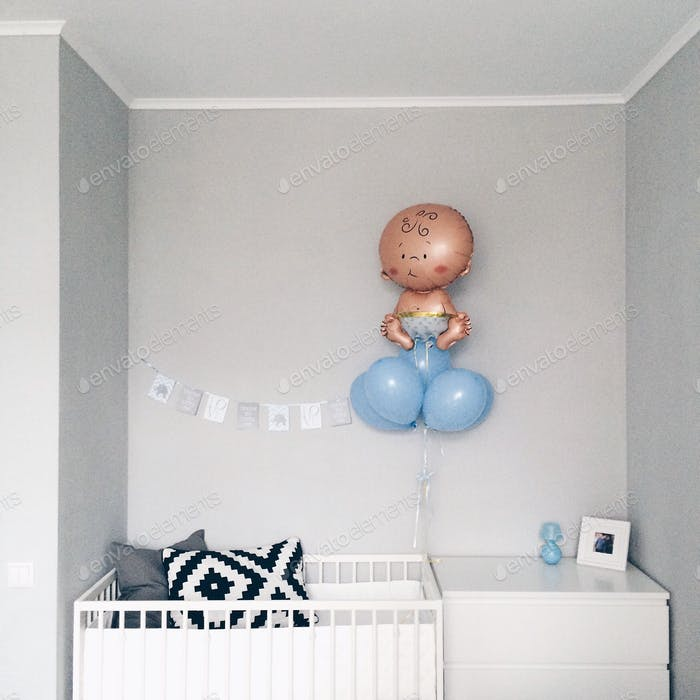Nursery, waiting for a baby