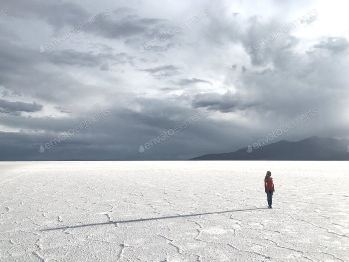 Exploring the Salt flats in Bolivia