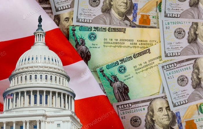 Covid 19 lockdown Senate and Representatives government Global pandemic Coronavirus financial relief