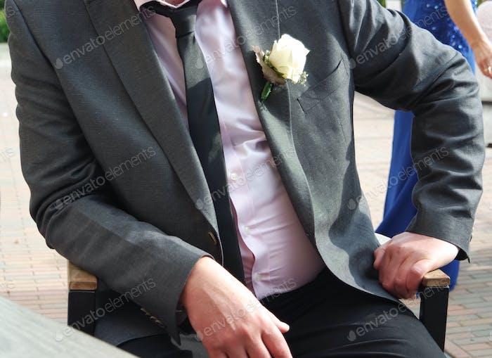 Hombre bien vestido