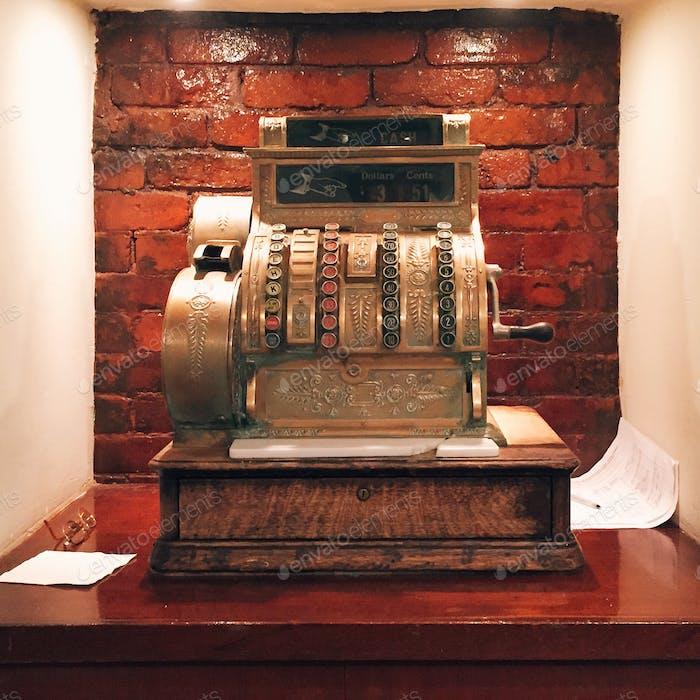 Antique ATM