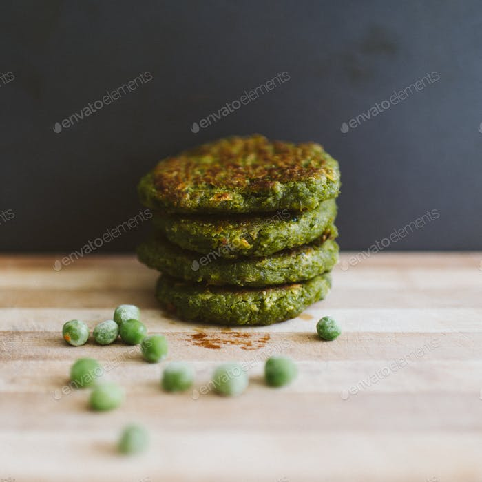 peas patty