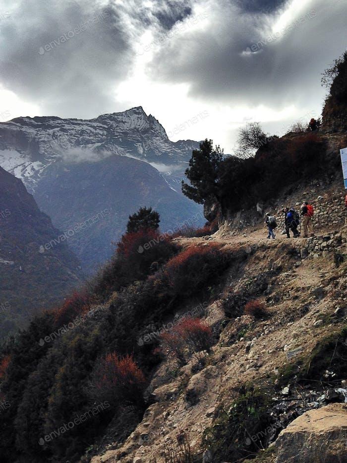 Hiking and nature.. The Himalayas.. Taken November 2014.