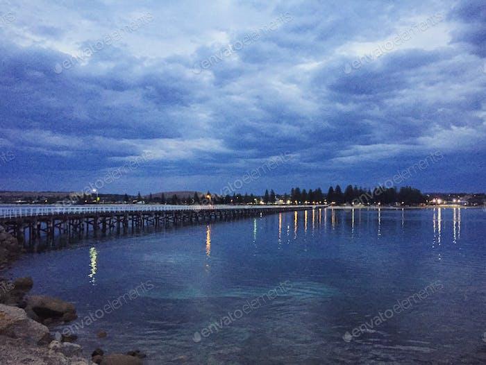 Granitinsel, Hafen von Victor