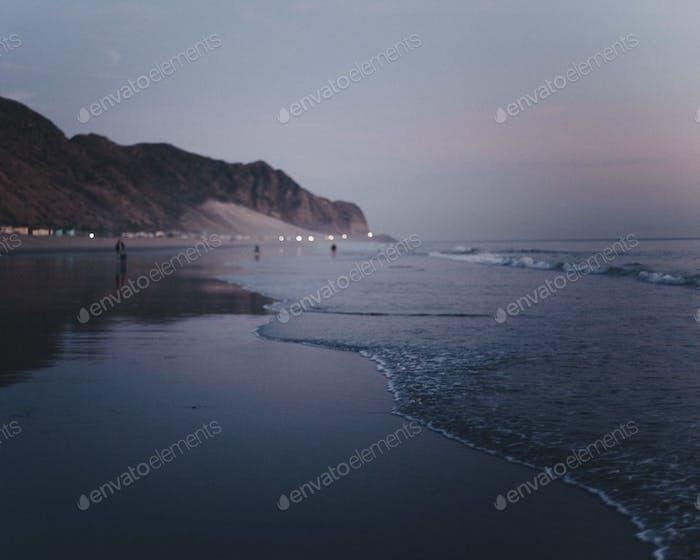 Dämmerung Strand