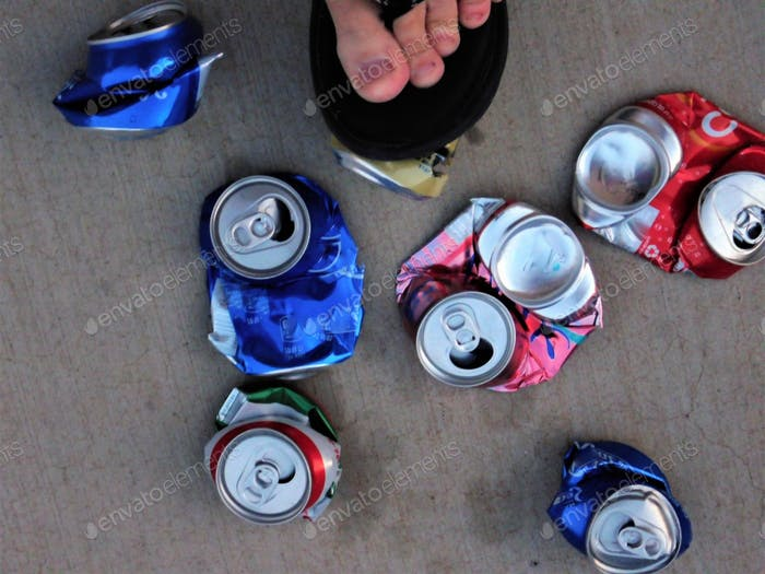 National Crush a Can Day is September 27th and created to help educate people about the benefits of