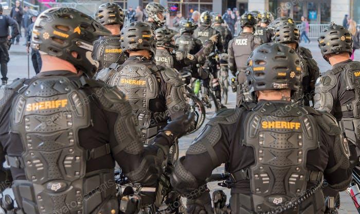 Fuerza de policía militarizada