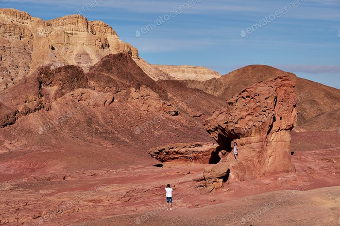 Timna The Timna Valley (תִּמְנָע) is located in southern Israel in the southwestern Arava/Arabah