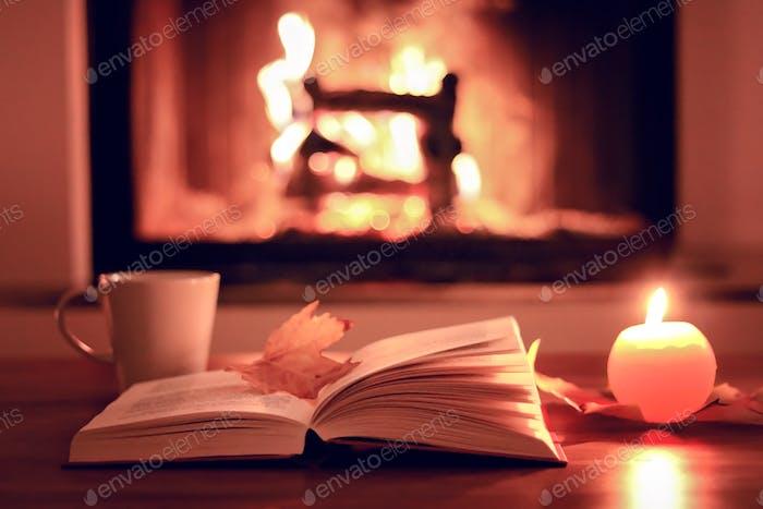 🎉Nominated 🎉 Cozy autumn evening