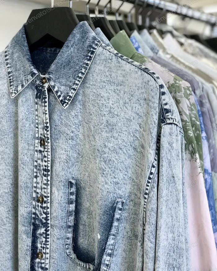 Button down casual shirts.