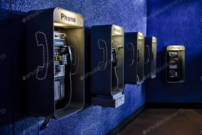 Antique Payphones.