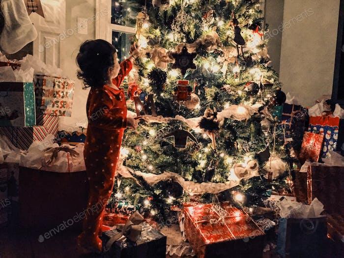 The awe of Christmas...