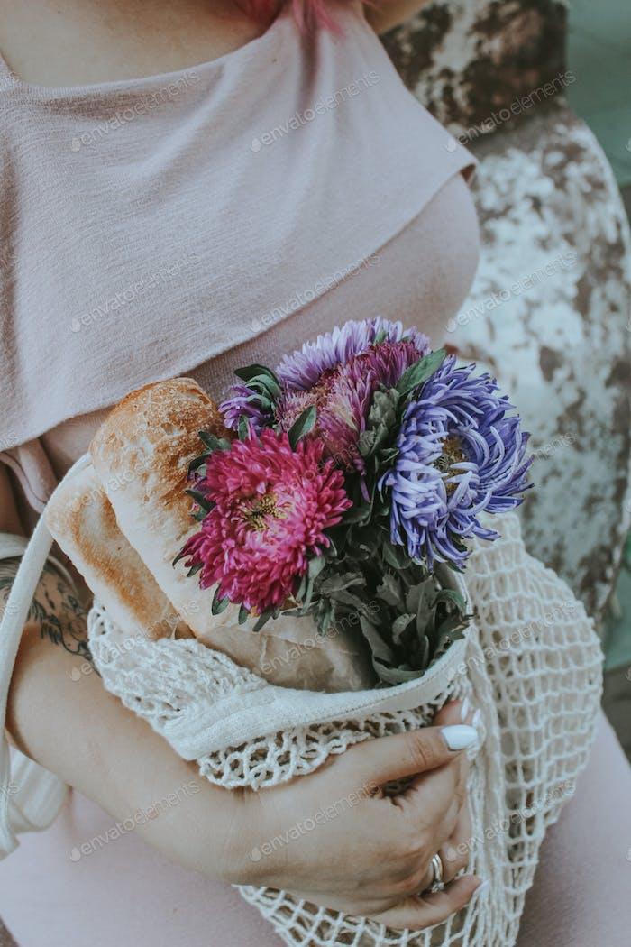 Manejo de flores
