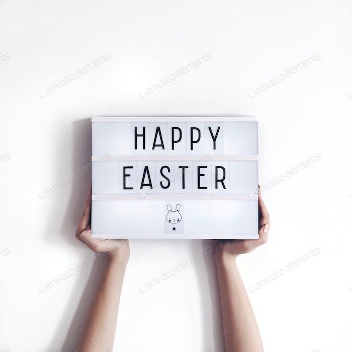 Happy Easter lightbox