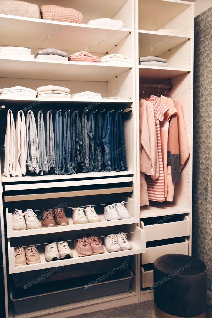Woman's closet